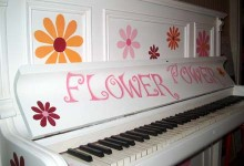 Flower power piano