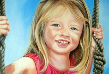 Various children's portraits