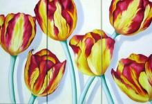Flowers – Triptychs