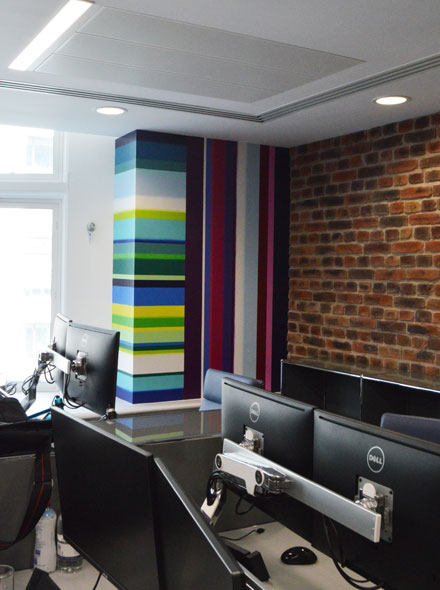 Murals For Offices In Covent Garden London